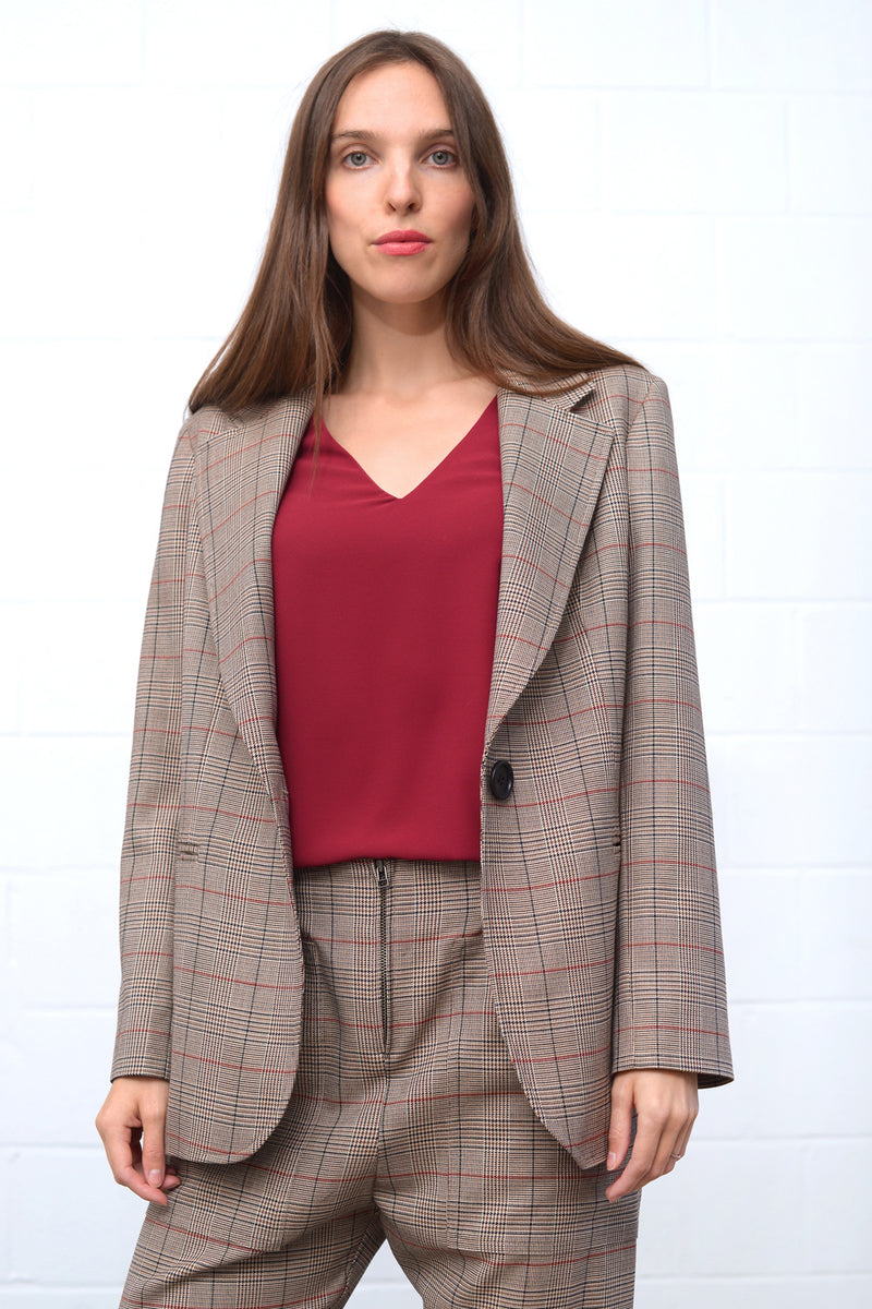 Calino Blouse - marsala