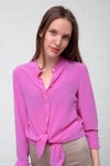 Camille Silk Blouse - pretty