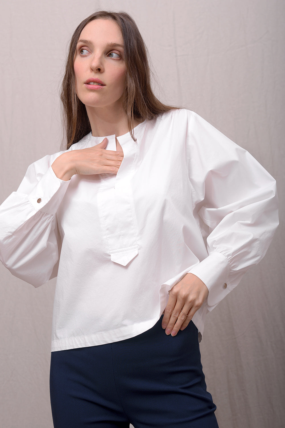 Candro Blouse - bianco