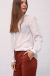 Casitana Blouse - white pois