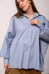 Cerena Blouse - bluegrey