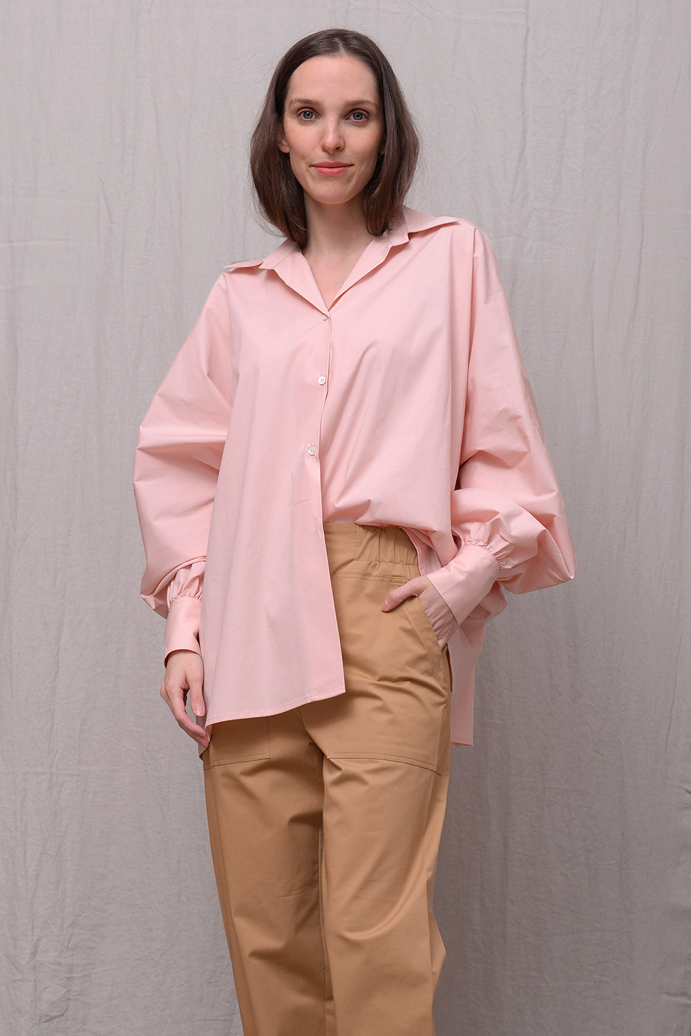 Cerena Blouse - nude
