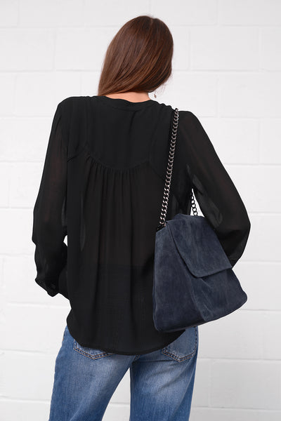Costa Blouse - nero