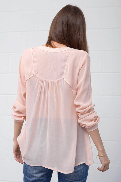Costa Blouse - nudo