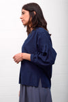 Creppo Blouse - blue