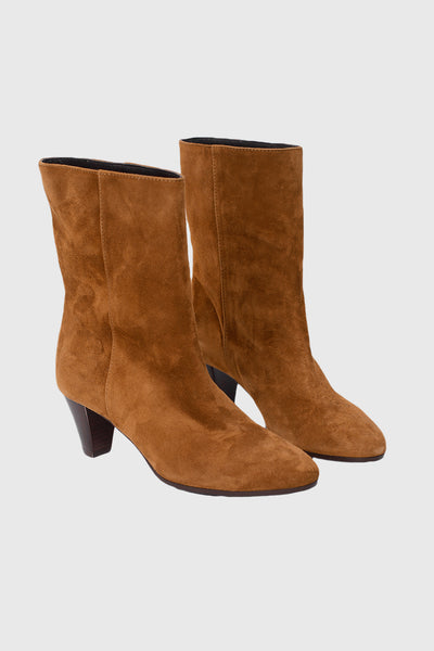 Emily Cam Boots - cuoio