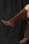 Evania Vel Boots - brown