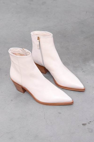 Faenza Vit Boots - offwhite