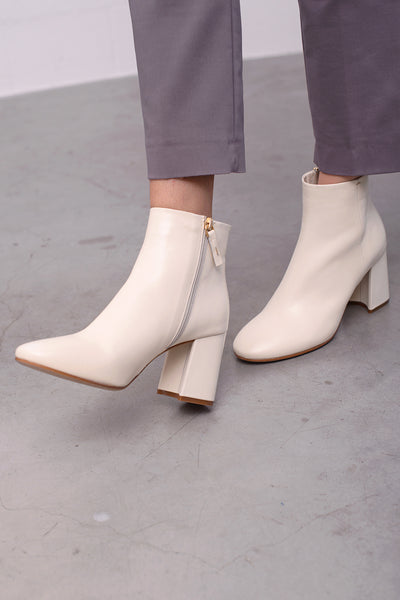Felicia Vit Boots - offwhite