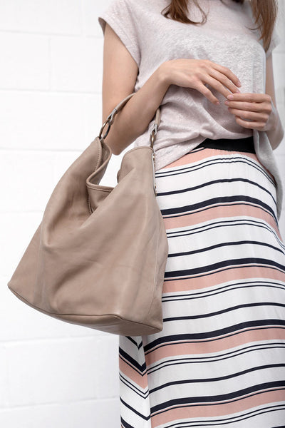 Gamy Skirt - blushstripe - PREGO - made with love - Damenmode