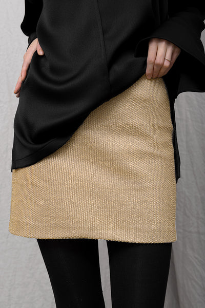 Gebas Skirt - gold - PREGO - made with love - Damenmode