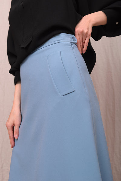 Gilberta 033 Skirt - dolphin