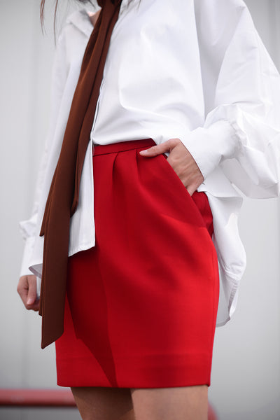 Grimal Skirt - rouge