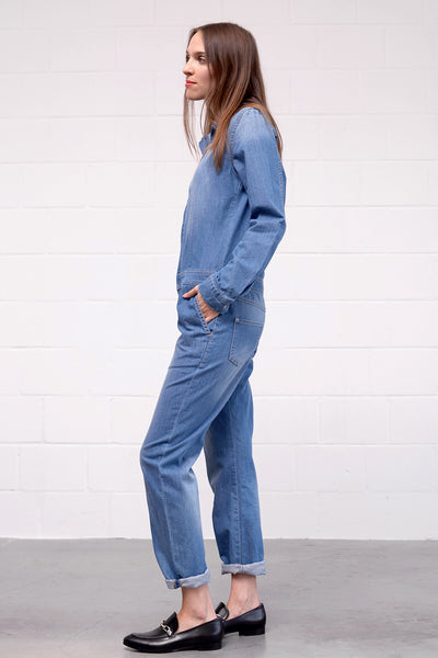John Jumpsuit - denim - PREGO - made with love - Damenmode