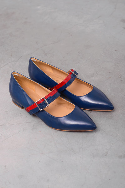 Lala Nap Shoe - blu red