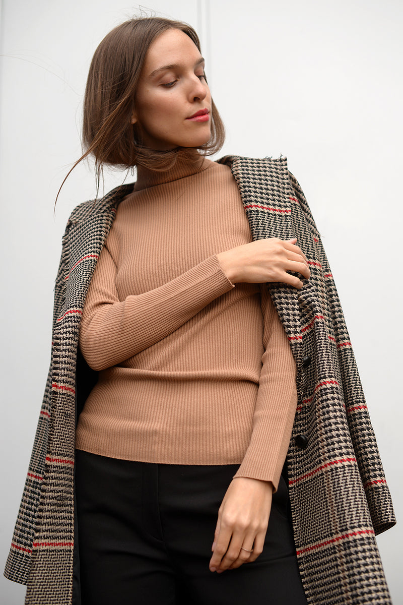 Melly Vis Pull - caramello