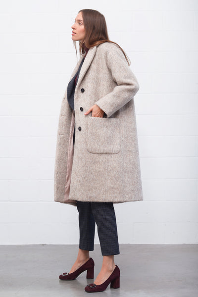 Odeya Coat - agnello