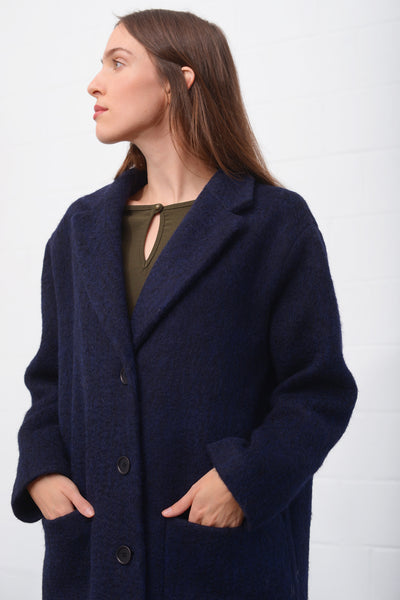 Odeya Wool Coat - notte