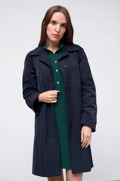 Omage Coat - navy