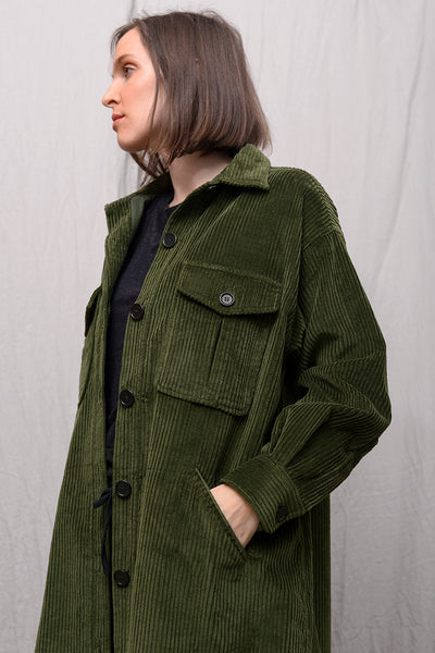 Orisa 652 Coat - aloe