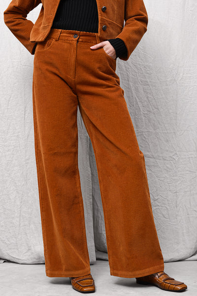 Parita 652 Pants - brandy