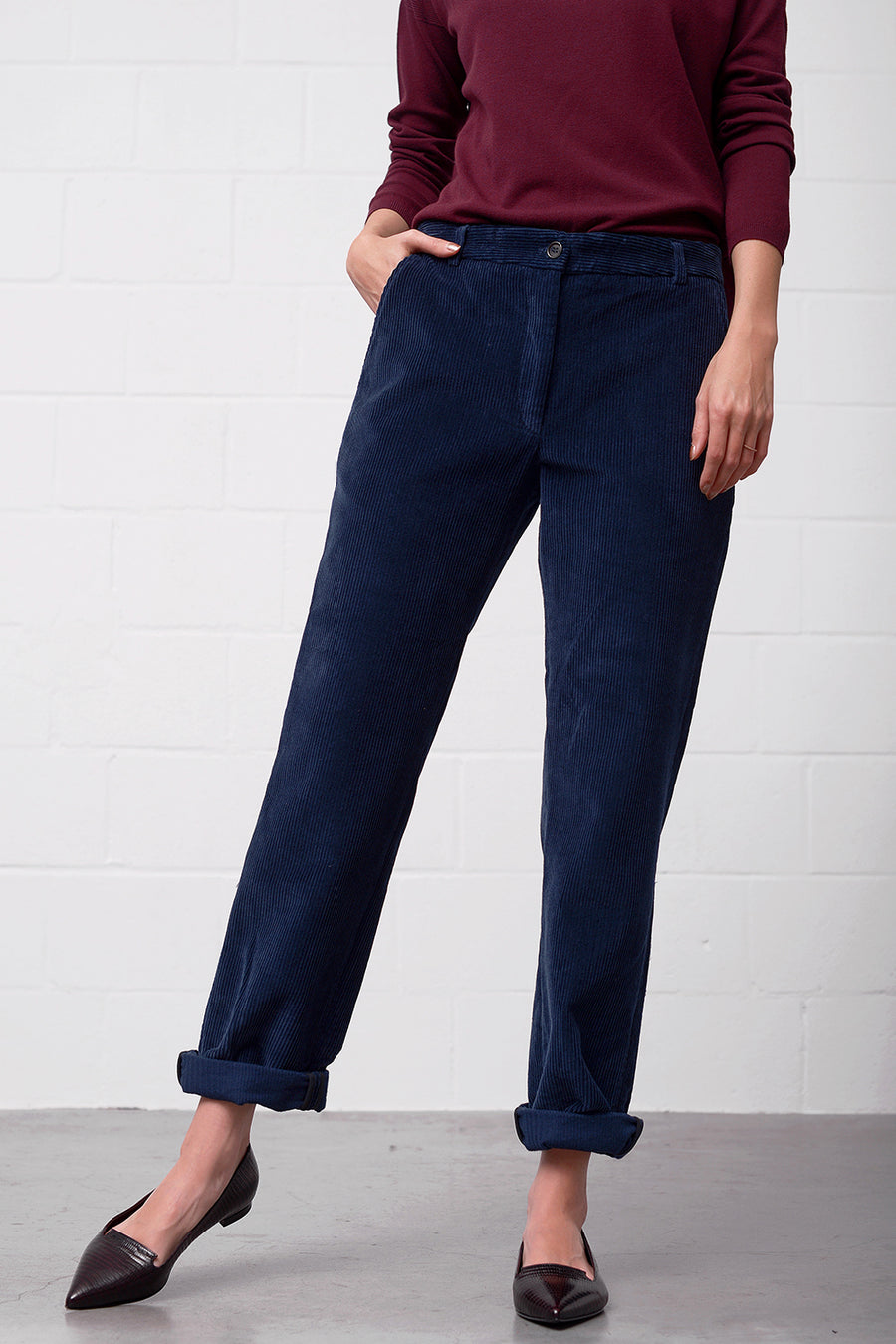 Peria Pants - bluegrey