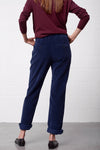 Peria Pants - bluegrey - PREGO - made with love - Damenmode