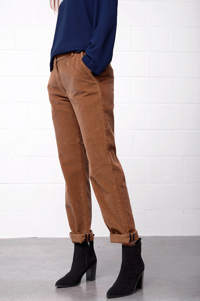 Peria Pants - camello - PREGO - made with love - Damenmode