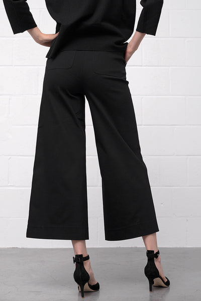 Ponta Pants - nero - PREGO - made with love - Damenmode