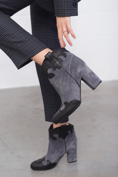 Saturn Vel Mal Boots - grey
