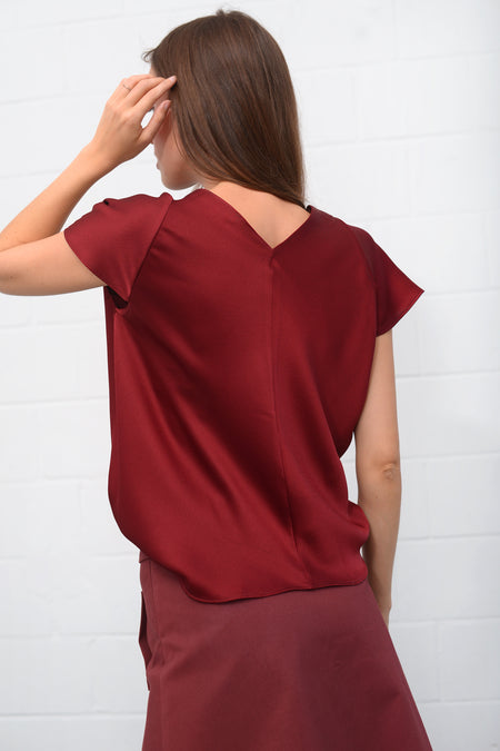Taqui Top - bordo