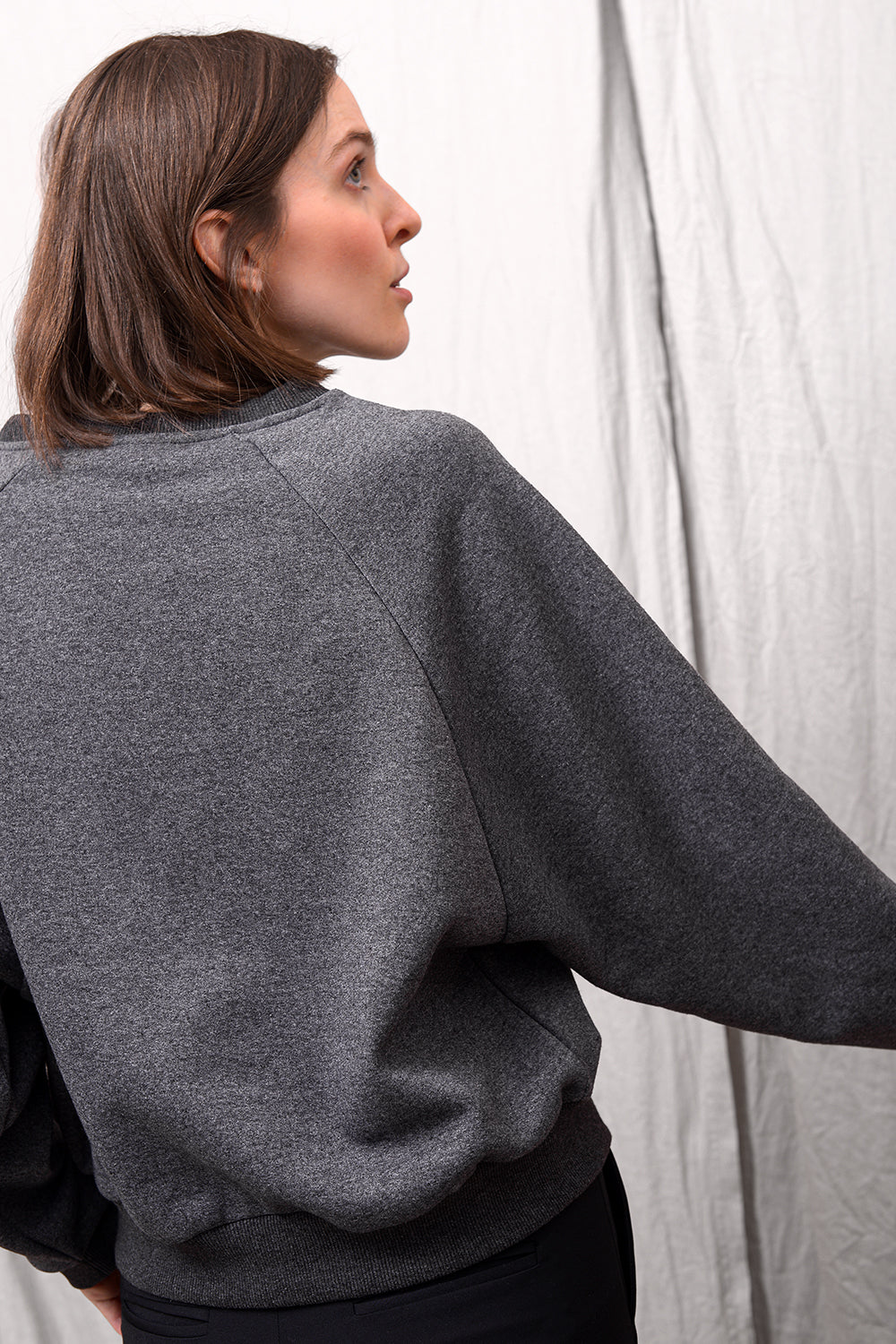 Taty Big Sweat - charcoal