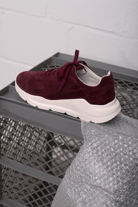 Zatar Vel Shoe - bordo