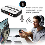 DIGITNOW HDMI Video Converter Game Capture/HD, Video Capture Device/Recorder for PS4, Xbox One/Xbox 360,LiveTV,PVR DVR, Support HD Video HDCP 1080P and Mic in(No Computer Required)