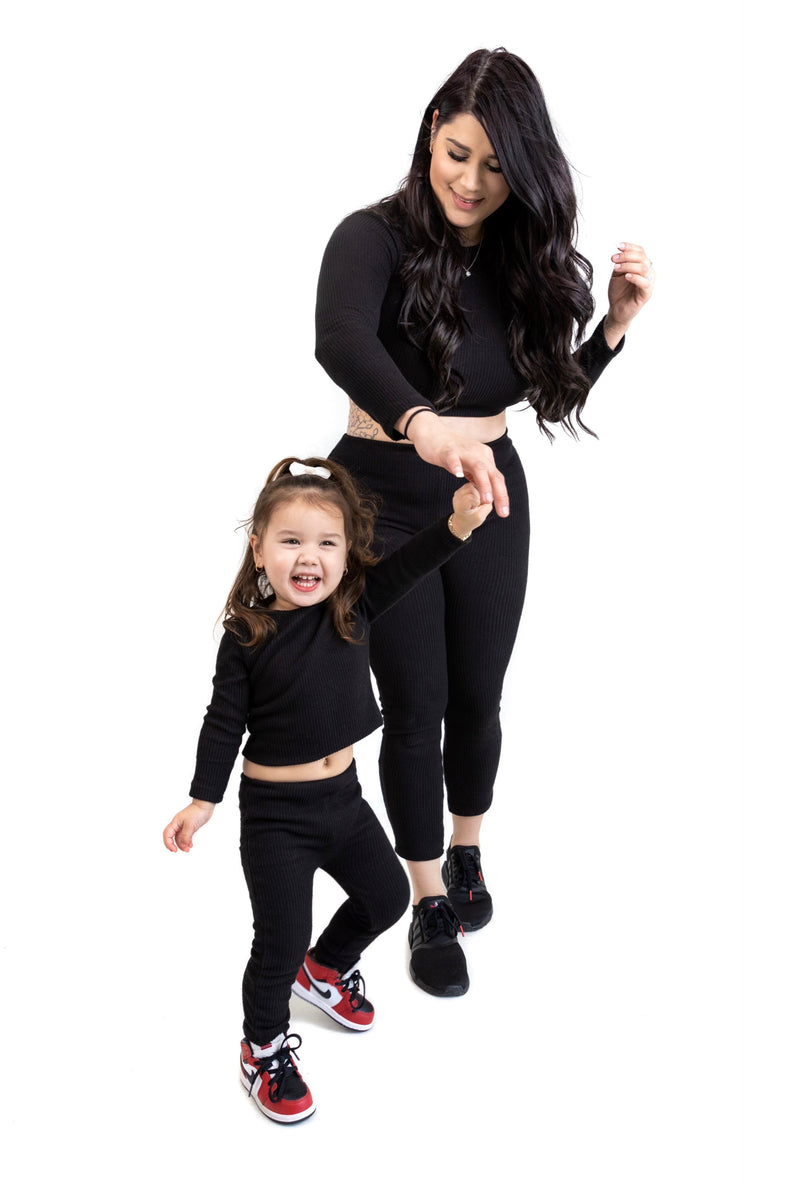 My Little Bestie Set (Black)(Mommy)