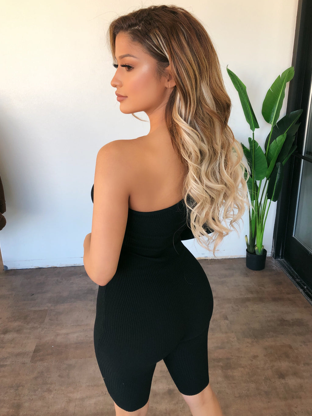 Wynter One Shoulder Jumpsuit(Black)