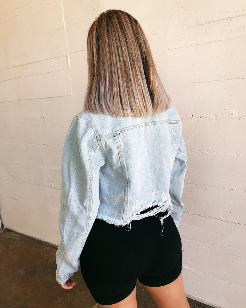 Blake Denim Jacket(Light Denim)