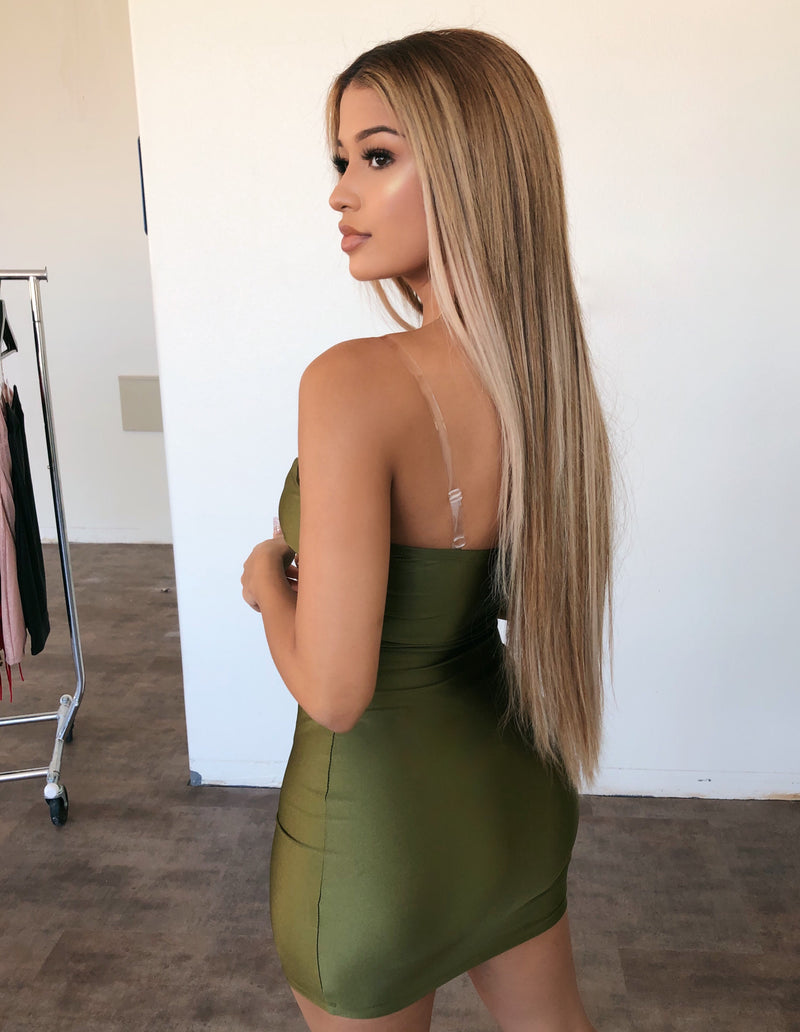 Rylie Cami Dress(Olive)