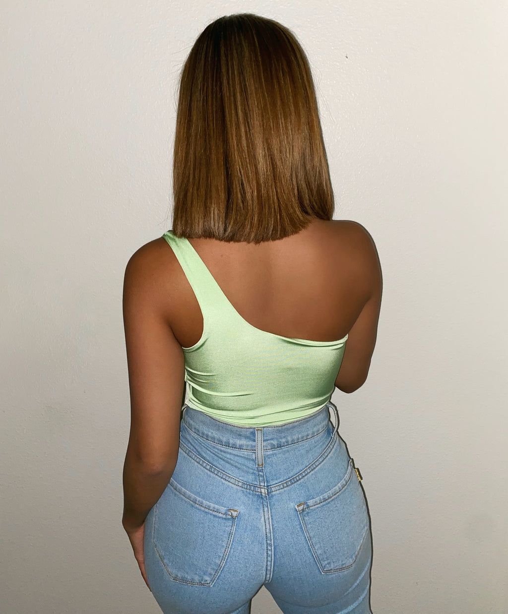 Maddison One Tank Top(Light Green)FINAL SALE
