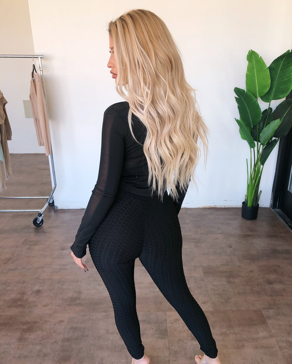 Diana High Rise Leggings(Black)