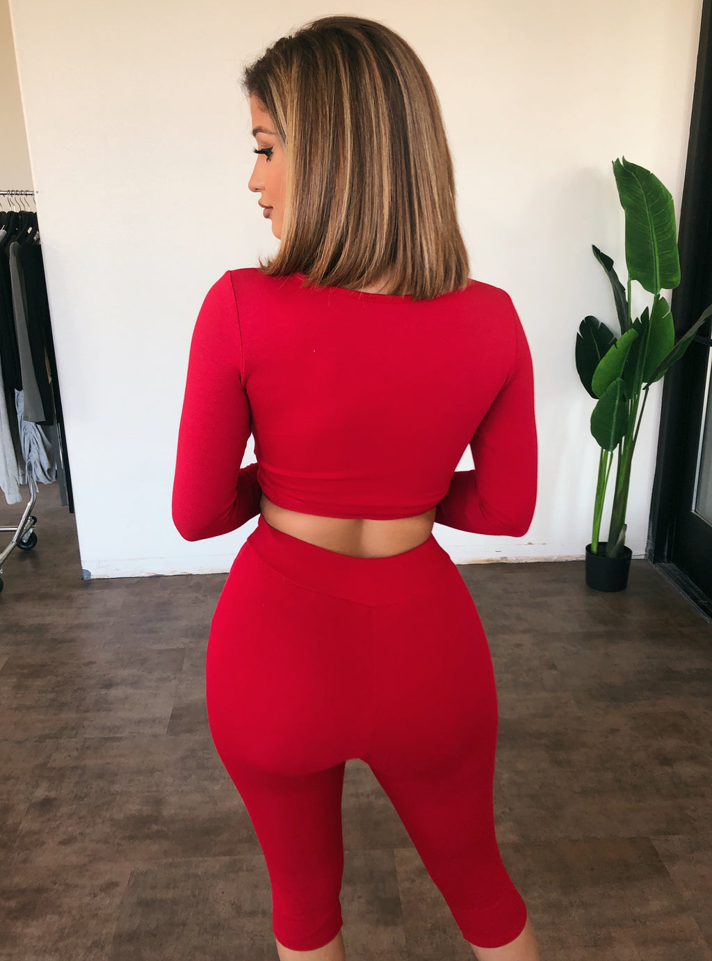 Karina Matching Set(Red)