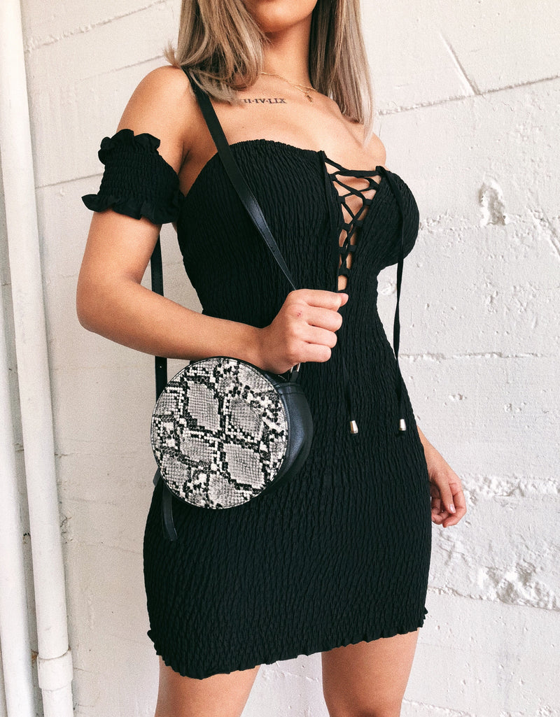 Marisa Cami Dress(Black)