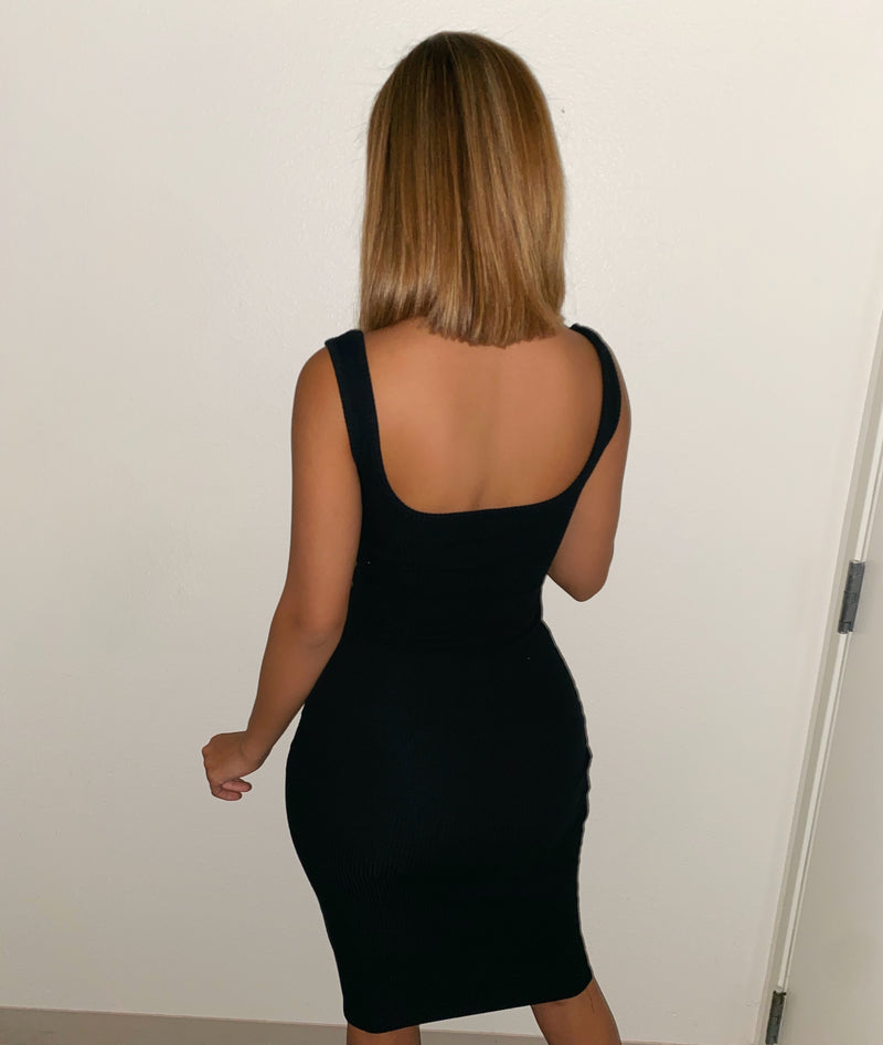 Valentina Tank Dress(Black)FINAL SALE