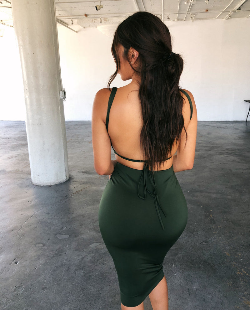 Pipper Cami Matching Set(Army Green)