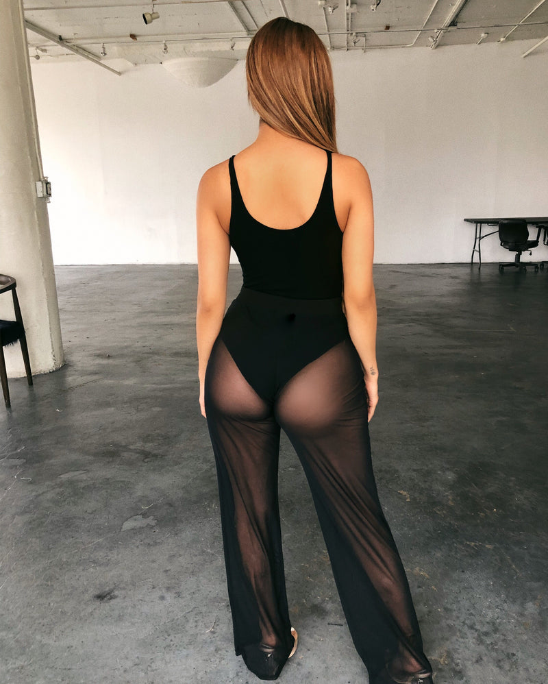 Susan Mesh Pants(Black)