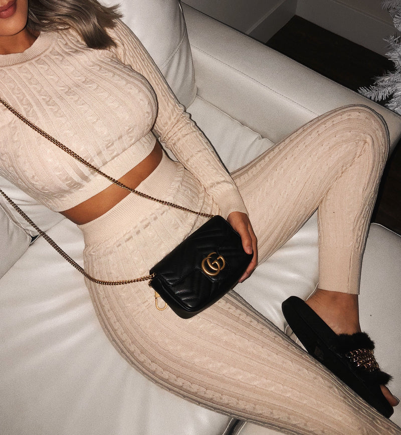 Amanda Matching Set(Beige)