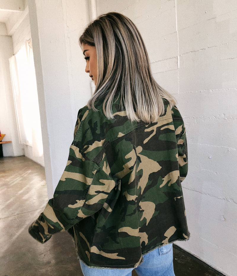 August Camo Jacket