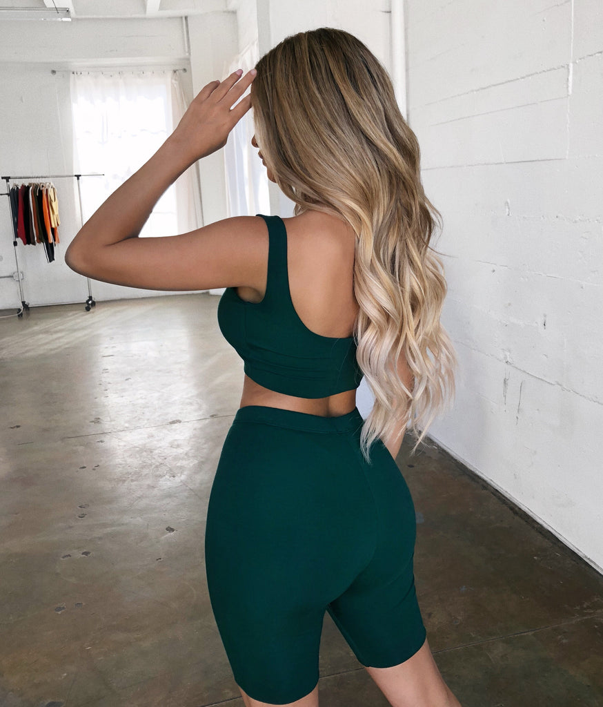 Camila Matching Set(Hunter Green)