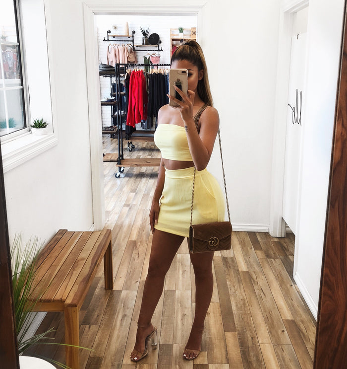 Gina Matching Set(Yellow)