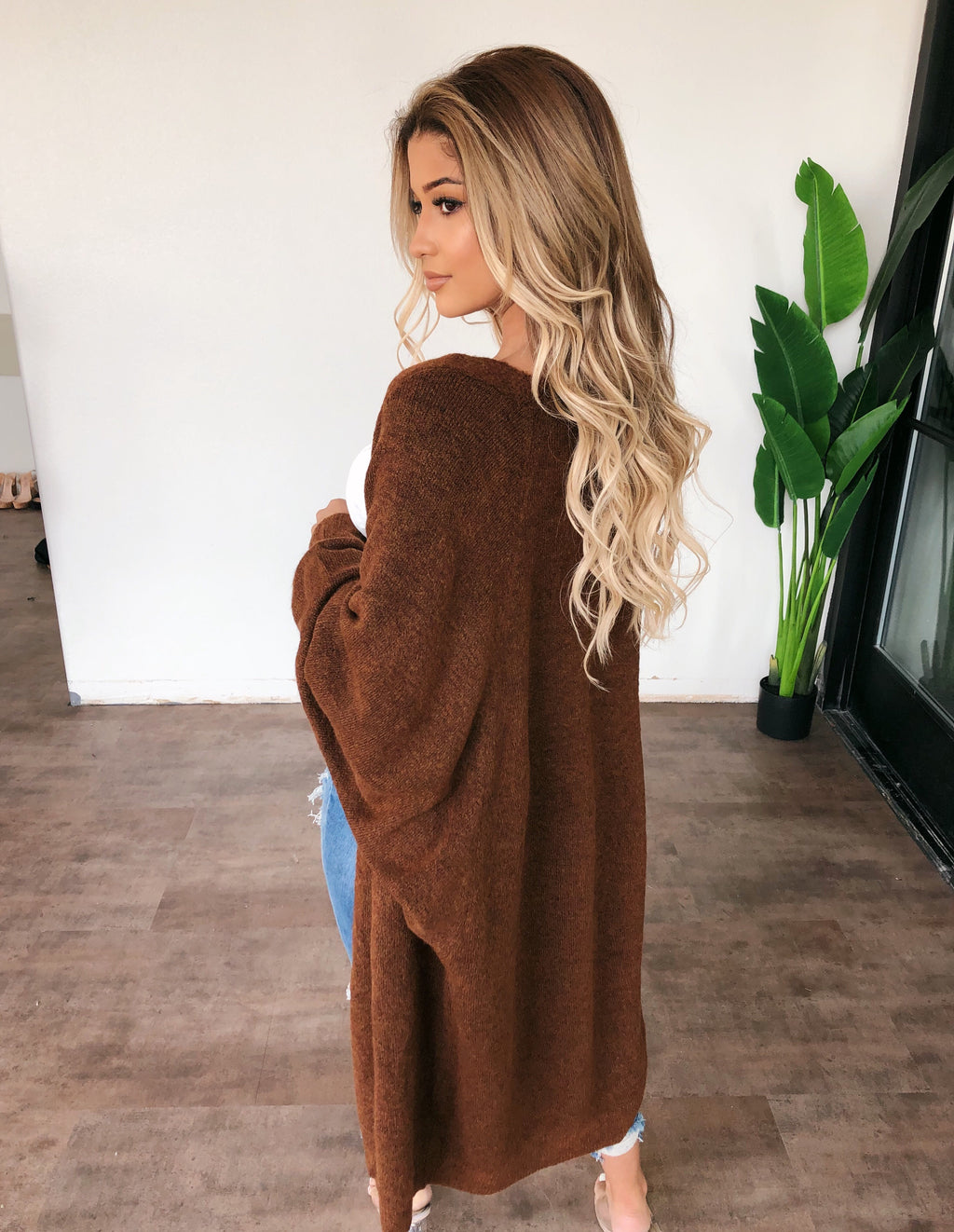 Alice Cardigan(Dark Camel)